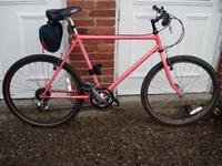 Like new 18 speed mountain bike in excellent condition.