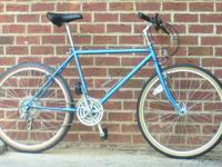 This Schwinn Mirada was built about 1985 of  4130