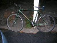Bike has a 20in frame, overall good condition. Firm