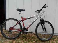 Schwinn mountain bike for sale, front shocks, gears in