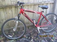 "Schwinn 26"" 12 speed mountain bike Hardly used Perfect"