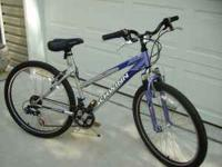 24 sp. Schwinn Mountain Bike(blue). Like New. $100.