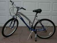 "Schwinn 26"" Women's Jet Star 21 speed mountain bicycle."