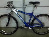 mens 26inch moutain bike.new condition,barely rode...