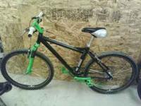 Rebuilt mtn bike: Schwinn frame Sram gear shifters