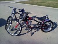 I have (2) Black Schwinn O C C Choppers for sale-they