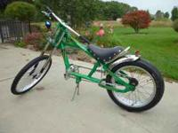 Occ chopper bike in good condition,crome needs to be