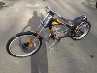 New out of the box Black Orange County Chopper, bought