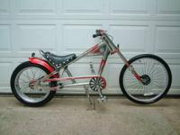 Custom vintage Orange County Choppers Schwinn Stingray