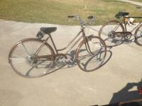 Hello I have a beautiful set of rootbeer brown Schwinn