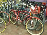 We recondition made use of bicycles and make them