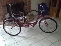 I have a new schwinn meridian adult tricycle for sale.