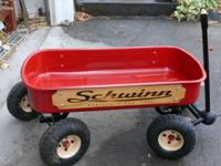 "Schwinn QU4D Steer Classic Red Wagon 36"" long x 17"""