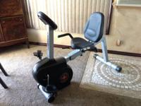 Quality Schwinn Recumbent Bike. Multiple programs,
