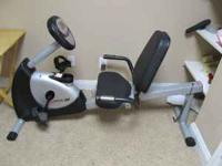 I have a Schwinn recumbent exercise bike. My wife and I