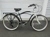 Schwinn Riverside Cruiser Hybrid Bike-7 speeds! A cross
