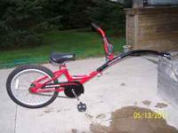 I am selling a Schwinn Runabout bike, it attaches to