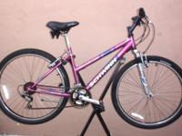 "SCHWINN SIDEWINDER 2.6 LADY MOUNTAIN BIKE, 26"" aluminum"