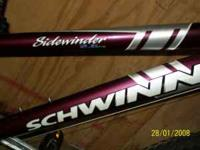 I am selling a women's schwinn sidewinder 2.6 fs. It is