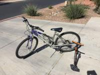 Used Women's Schwinn Sidewinder bicycle. I haven't used