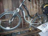 Schwinn Skyline mountain bike. Needs seat. Please call