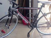 "28""/ 700c, weight: 40lb, 14 gears. Semi brand new. Used"