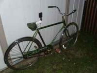 nice old bike. $80 obo.  Location: BG