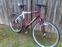 2010 Schwinn sporterra NX8 Hybrid bike with 700X37c