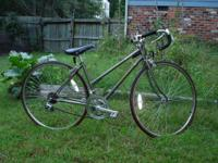 Offered here is a Schwinn Sprint Road Bike. I posted