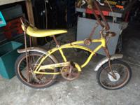 Schwinn stingray lemon pehller make offer john at