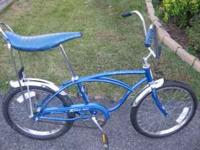 1969-SCHWINN STRING BIKE.....20 INCH.....GOOD