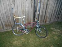 this is a 1953 Schwinn 20 inch bike that in 1969 the