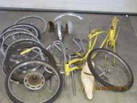 Old schwinn stingray bike parts for sale call for info