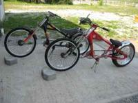 These collectible Schwinn Stingray chopper bicycles,