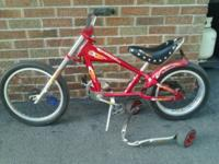 Excellent condition. Training Wheels Included