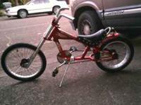 Schwinn Stingray Chopper Bicycle Bike Is Used And Shows