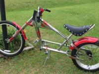 """Part chopper. Part cruiser. 100% muscle bike -- the"