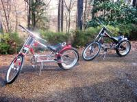 These Schwinn Stingray Orange County Choppers are some