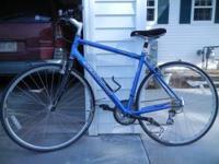 Schwinn road bike. Blue. Nice ride, excellent