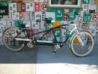 Schwinn Tango Tandem 7 rate cruiser. Really wonderful