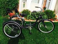 Schwinn Town and Country Tricycle (Black) Pristine