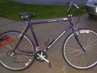 For Sale: One carefully used Schwinn Transit bicycle.