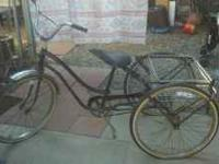 I have an old schwinn 3 wheeler possibly from the