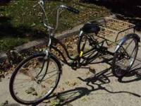 I'm selling my 1982 Schwinn Town & Country Trike, all