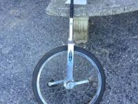Schwinn Unicycle with brand new tire in good condition.