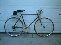 this was my husbands bike thru high school,( he is now