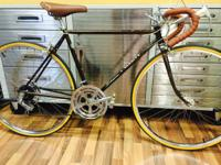 This bike is a small size with a 50cm frame.  We have