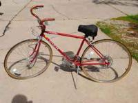 Schwinn Varsity Deluxe 10 speed that is from the 70's