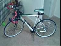 I'm offering the bike because I am too hectic with