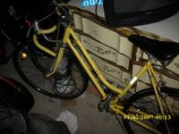 I have a schwinn 10 speed womens bike its yellow and in